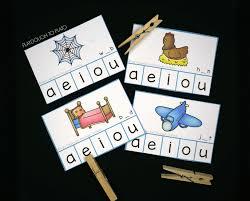 free cvc clip cards playdough to plato