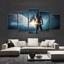 cheap modern paintings video game mass effect andromeda large