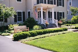 eksterior front yard landscaping ideas pictures bricks walkway