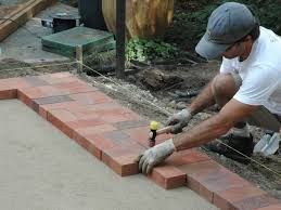 Patio Brick Pavers How To Lay A Brick Paver Patio How Tos Diy
