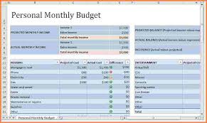 Monthly Expenses Spreadsheet Template Excel 9 Monthly Expense Spreadsheet Template Excel Spreadsheets