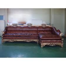 sofa l shape baroque l shape sofa set oriental antique reproduction furniture