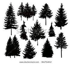 pine tree vectors free vector stock graphics images