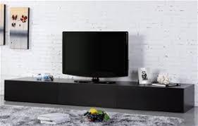 2 4m low line tv unit entertainment cabinet gt350 black auction