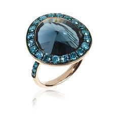 london blue topaz engagement ring dusty diamond london blue topaz ring annoushka the jewellery