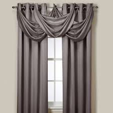 Drapes With Matching Valances Buy Grey Valance Curtains From Bed Bath U0026 Beyond