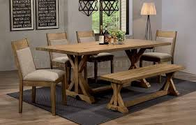 White Oak Dining Room Set - douglas dining table 107221 in white oak by coaster with options