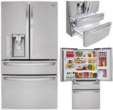 Lg Kitchen Appliances Best Double Drawer French Door Refrigerators Reviews Ratings