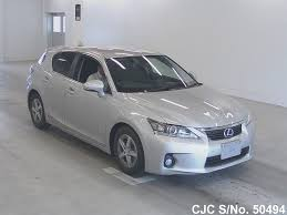 lexus ct200h used car 2011 lexus ct200h gray for sale stock no 50494 japanese used
