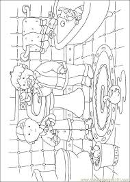 caillou coloring pages 033 coloring free caillou coloring