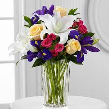 Good Vase The Ftd New Day Dawns Bouquet By Vera Wang Vase Included