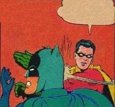 Meme Generator Batman Robin - robin slaps batman blank template imgflip