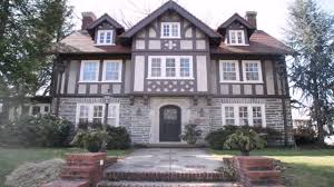 tudor style homes front door youtube