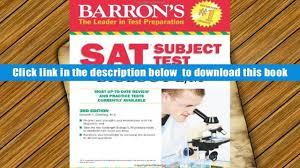 download barron s sat subject test biology e m 3rd edition