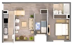 Floor Plans 3d Solar De La Cisterna U2013 3d Floor Plans