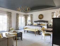 Charles Stewart Furniture by Currey Company Bedroom Traditional With Barrel Vault Ceiling