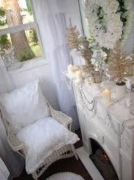 shabby chic tiny retreat my tiny house is decorated for christmas