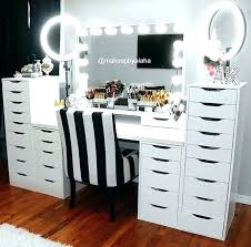 vanity and bench set with lights vanity makeup table set yuinoukin com