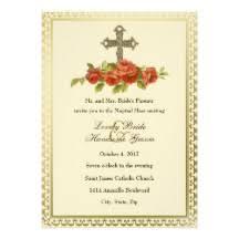 catholic wedding invitation catholic wedding invitations announcements zazzle