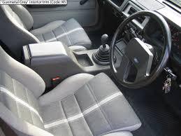 ford fairmont ghia xe esp gunmetal grey front seats ford