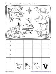 free worksheets christmas lessons for kindergarten free math