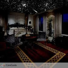 sleep under the stars every night custom hand painted glow in