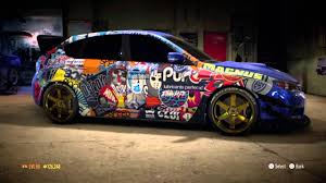subaru crosstrek decals full sticker wrap subaru nfs15 ps4 youtube