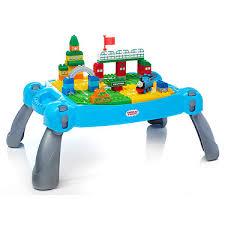 mega bloks first builders table mega bloks junior builders thomas friends maxi table the