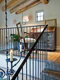 Iron Handrail For Stairs Wrought Iron Banister Railings Houzz