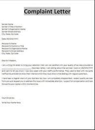 Formal Complaint Letter Format Sle useful vocabulary and writing skills for application cover