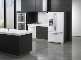 kitchen delightful modern kitchen design with white black