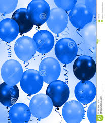 party blue balloons background royalty free stock images image