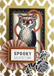 july 11th 2017 vintage halloween card making kit card kits