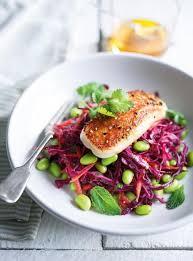 ricardo cuisine concours salade de chou d edamame et de halloumi grillé ricardo