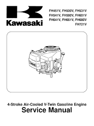 kawasaki fh541v service manual carburetor