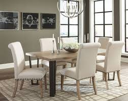 modern vintage rustic pine dining room set by donny osmond from