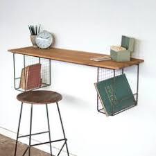 Floating Wall Desk Floating Desk Wall Mounted Desk Walnut By Formollydesks On Etsy