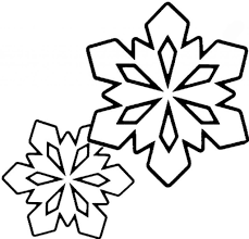 snowflake color pages funycoloring