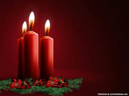 christmas candles wallpapers for free download