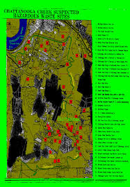 Map Of Chattanooga Tennessee by Environmental Justice