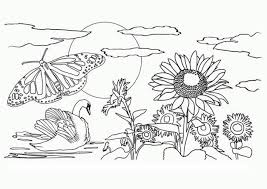 84 nature coloring pages coloring pages adults nature
