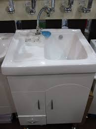 Laundry Room Utility Sink by Utility Sink With Cabinet Week 6 One Room Challenge Garage