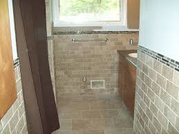 half bathroom tile ideas how big is your bathroom googled bathroom half wall tile bathroom