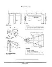Plans For A Shooting Bench Over 20 Shooting Bench Plans Planspin Com Diy Woodworking Plans