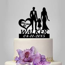 wedding cake topper with little wedding cake topper with