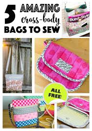 5 amazing cross bag patterns to sew right now sewcanshe