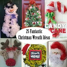 christmas wreaths deco mesh wreath