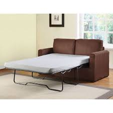Sofa Bed Twin Sleeper Craigg Sofa With Twin Sleeper Chocolate Walmart Com