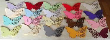 wedding supply wedding supply butterfly place cards from yoyo crafts yoyo