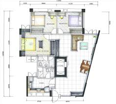 layout planner image for modern floor plan small master home small